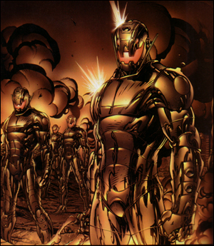 Avengers Disassembled panel 1
