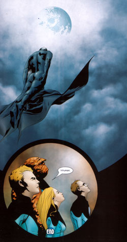 Ultimate Fantastic Four panel 1