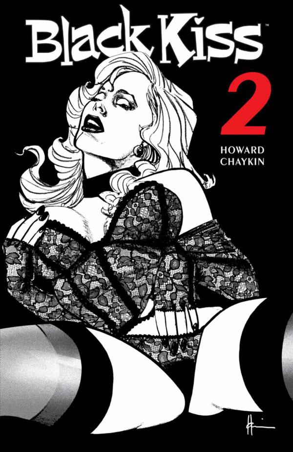 Black Kiss 2 - Howard Chaykin (Image Comics)