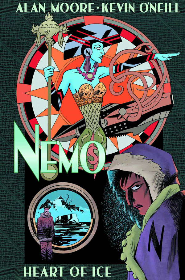 Nemo: Heart of Ice - Alan Moore/Kevin O'Neill (Top Shelf Productions). Who would have thought. An Alan Moore story with no rape scene as a plot device; and in a League of Extraordinary Gentlemen tale too.