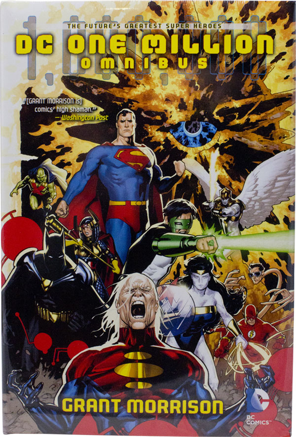 DC One Million Omnibus - Grant Morrison/Various (DC Comics). Wow, I'd forgotten how bad this was (except for Morrison's JLA sections; which are always good).