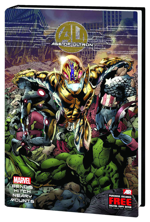 Age of Ultron - Brian Bendis/Various (Marvel Comics). Started off so well. But the variable art and mucking up of Marvel's continuity makes me more and more believe that one day Marvel will have to do a Crisis on Infinite Earth's tale.