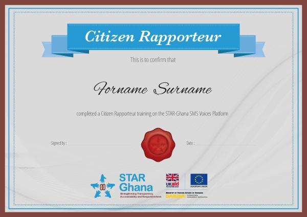 Ninja Beaver - On Our Radar certificate for Star Ghana