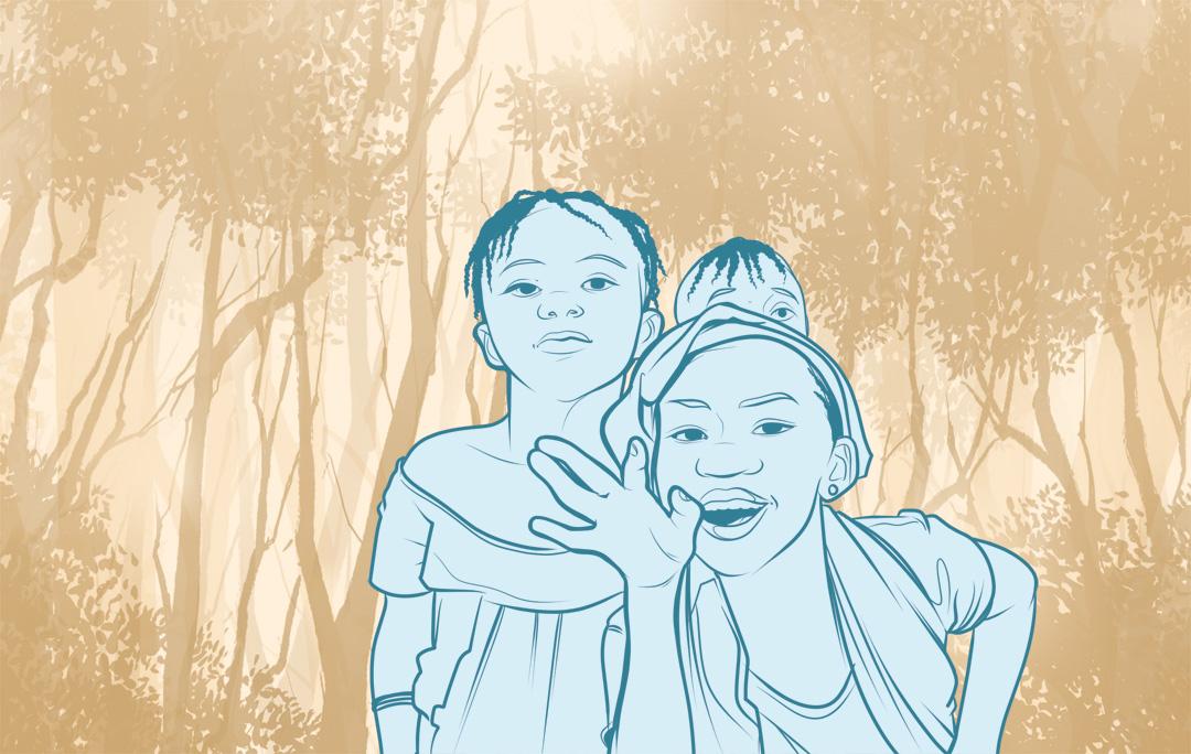 Ninja Beaver - On Our Radar - Illustration of children