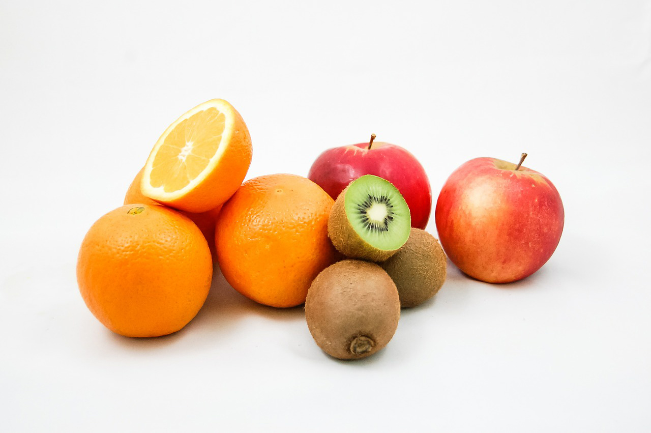 stock image of apples
