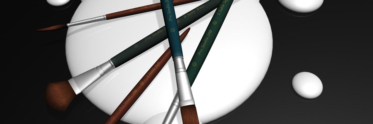 stock images - painbrushes by Ninja Beaver