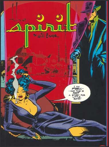 The Spirit panel