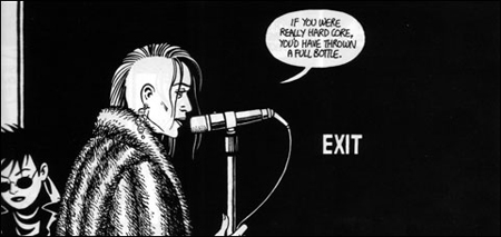 Love and Rockets panel 2