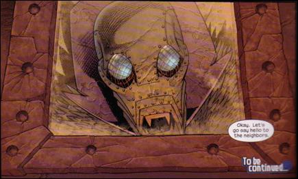 Ultimate Fantastic Four panel 1