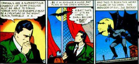 Bat-Man panel 1