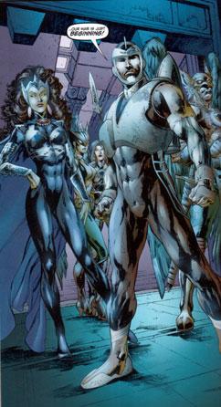 The Rann/Thanagar War panel 1