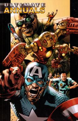 Ultimate Fantastic Four cover