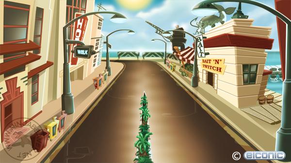 Harbour Concept Art