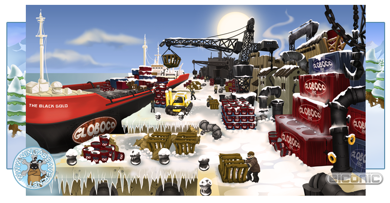 Polar Panic docks image