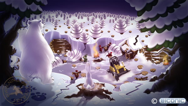 Logging area image