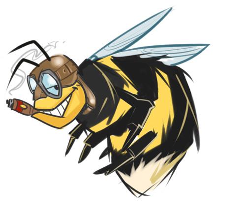 Hefty Bee