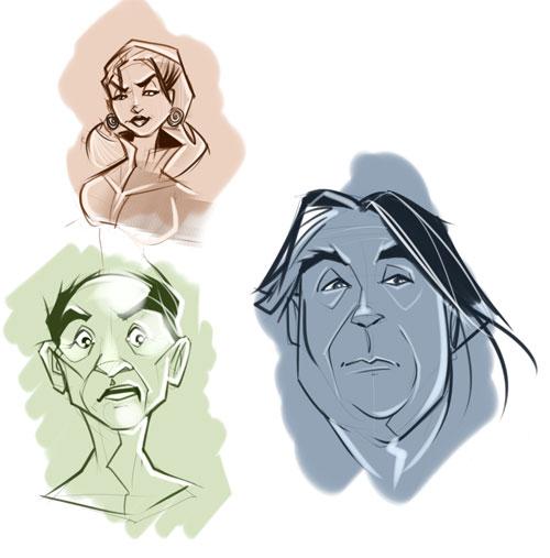 Facial Sketches
