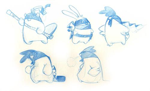 Ninja Beaver & Friends