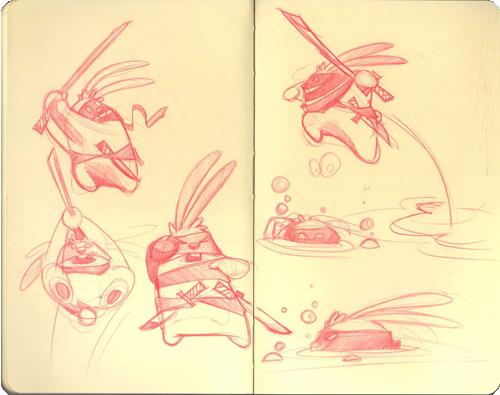 Toki sketches