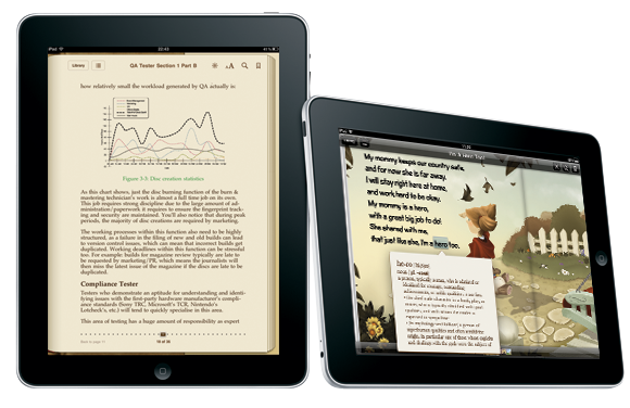 Ninja Beaver Studios - eBook Conversion for iPad