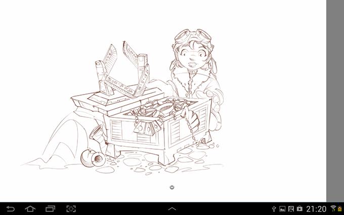 Sketchbook Pro WIP
