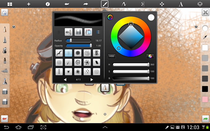 Sketchbook Pro on Android
