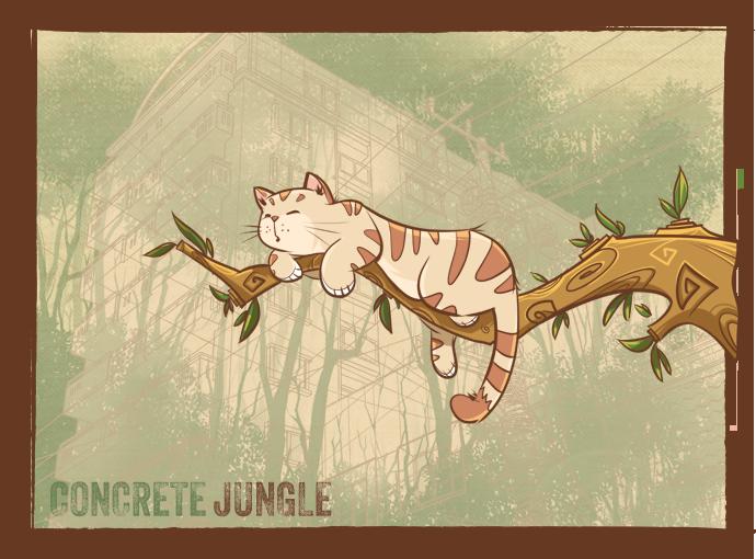 Illustration Friday : Jungle