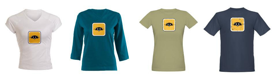 Ninja Beaver T Shirts