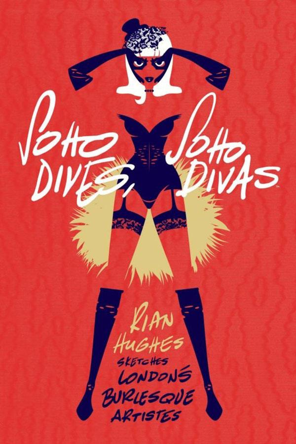 Soho Dives, Soho Divas - Rian Hughes (Image Comics)