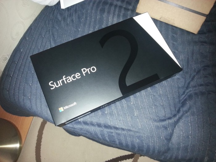 Surface Pro 2 in box photo
