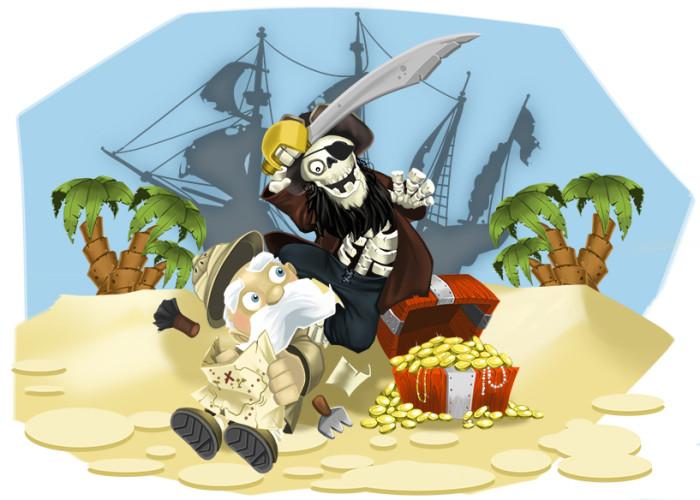 Illustration Friday: Treasure image