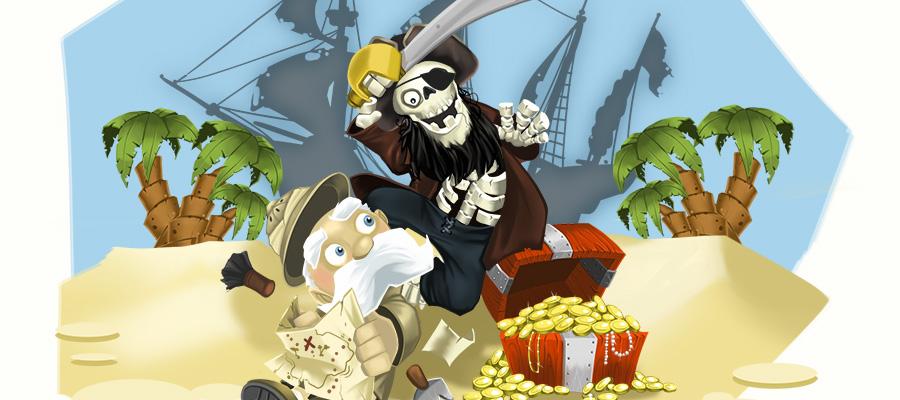 Illustration Friday: Treasure