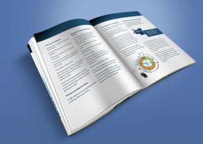 BlueVia print design - Example of columns