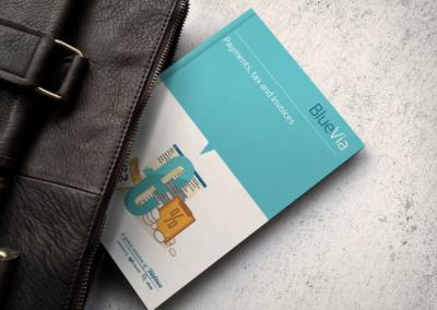 BlueVia print design - Business Guide