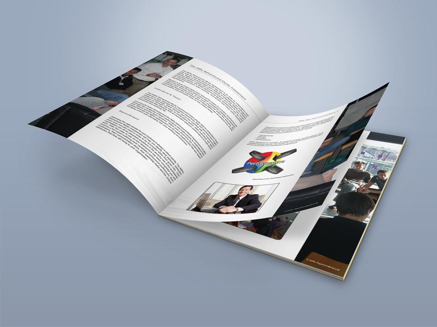 MiRo print design - Brochure Open