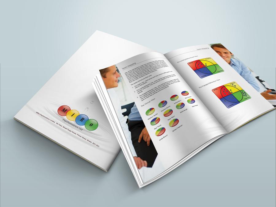 MiRo print design - Brochures