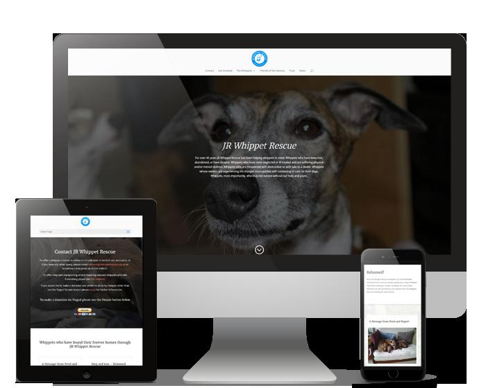 Ninja Beaver - JR Whippet Rescue website
