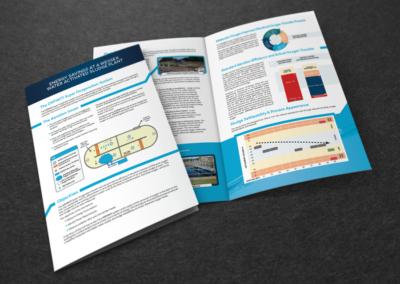 Oxfiniti print design bi-fold brochure