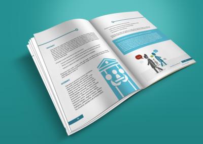 On Our Radar print design Citizen Reporter Handbook 2