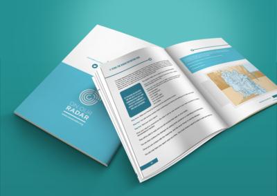 On Our Radar print design Citizen Reporter Handbook 3