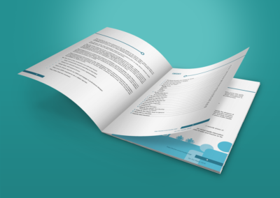 On Our Radar print design Citizen Reporter Handbook 4