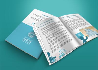 On Our Radar Print Design Ebola Handbook 3