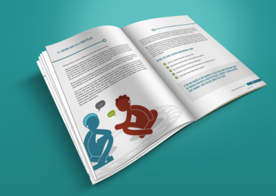 On Our Radar Print Design Ebola Handbook 4