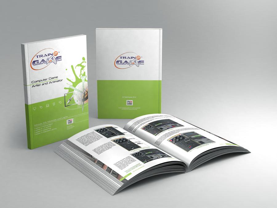 Ninja Beaver - Train2Game print design coursebooks