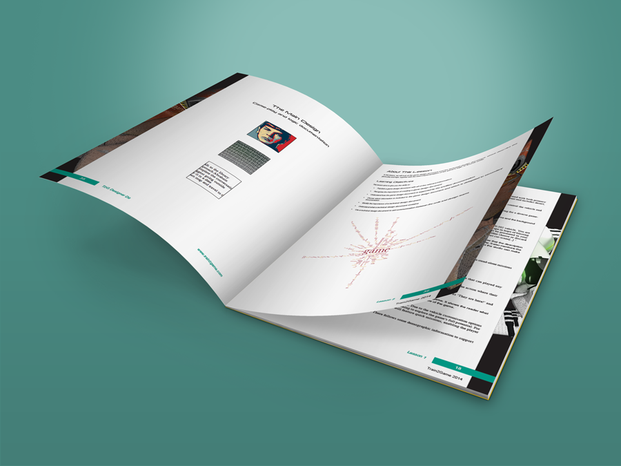 Train2Game print design computer Game Designer coursebook 3