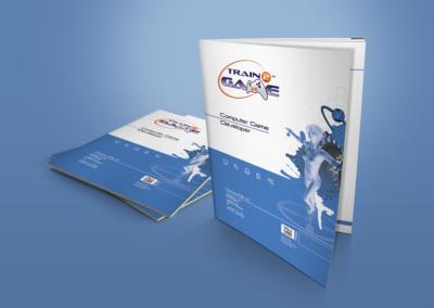 Train2Game print design computer Game Developer course book 1