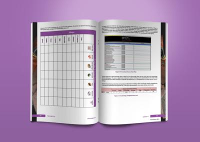Train2Game print design QA Coursebook 3