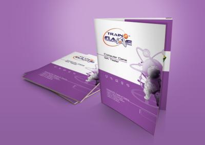 Train2Game print design QA Coursebook 1