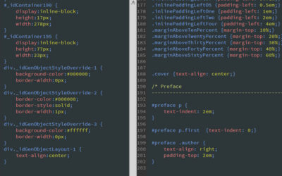 Auto vs designer generated ebook conversion