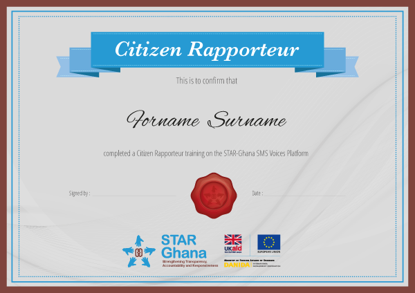 Ninja Beaver - On Our Radar certificate for Star Ghana